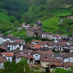De paseo por Zubieta en Navarra