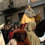 Los Reyes Magos en Sangüesa
