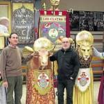 Desfile de gigantes en Tudela