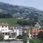 La localidad de Valcarlos en Navarra