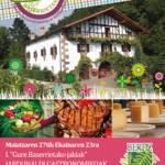 """I Jornada Gastronómica """"Productos del Caserío"""""""