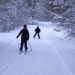 Temporada de esquí de fondo en Navarra