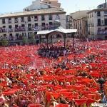 Las fiestas de Tudela en Julio