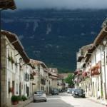De paseo por Huarte-Araquil en Navarra