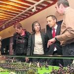 Exposición de soldaditos de plomo en Estella Lizarra