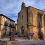 La localidad de San Martín de Unx en Navarra