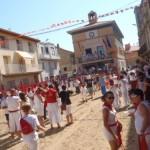 De paseo por Cabanillas en Navarra