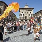 La Edad media en OLite este Agosto
