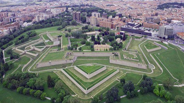 El Castillo Nuevo en Pamplona
