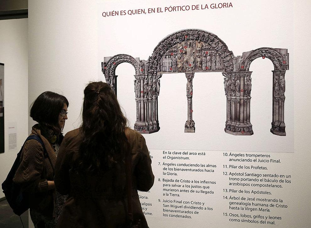 Pórtico de la Gloria en Navarra